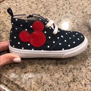 GAP Shoes - Baby Gap Disney Demin Hightop Sneakers